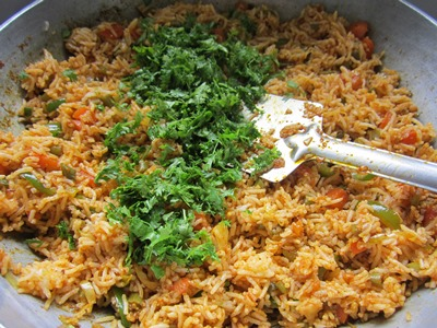 recipe for vegetable pulao