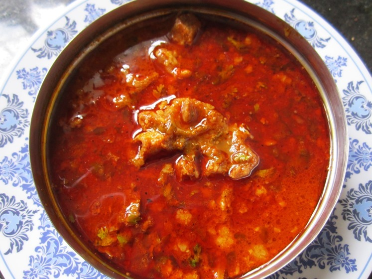 Maharashtrian Mutton Rassa Recipe