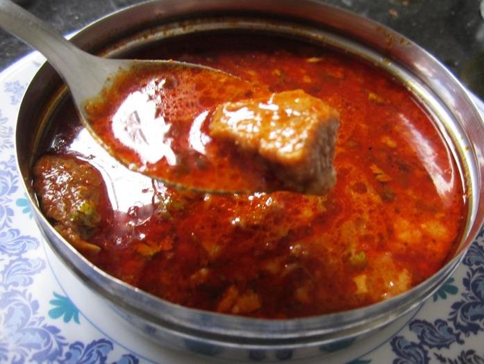 Maharashtrian Mutton Rassa