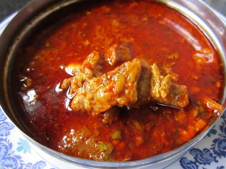 how to make Maharashtrian Mutton Rassa Recipe