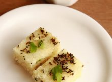 how to make rava dhokla