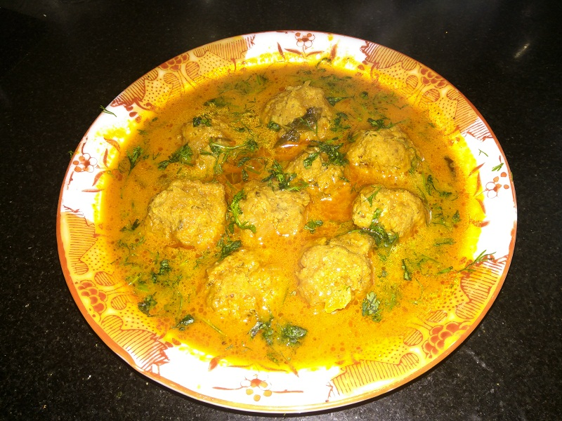 Beef Kofta Curry Beef Meat balls Curry