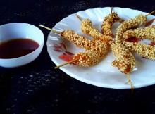 Prawns fry recipe