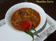 PAVAKKA CURRY/ BITTER GOURD CURRY