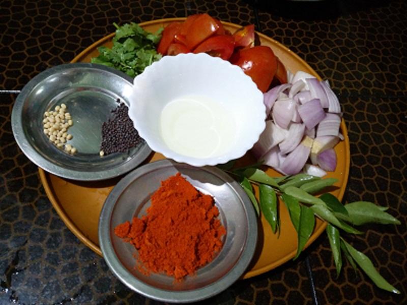 tomato chatney ingridians