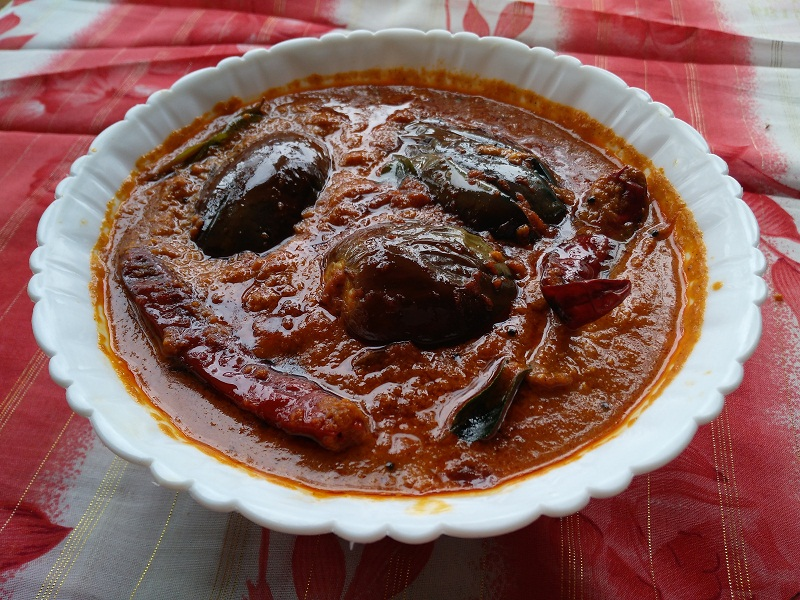 brinjal curry mein 4