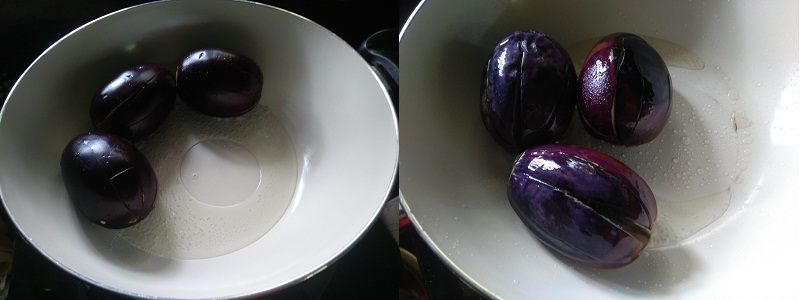 brinjal curry stp 1
