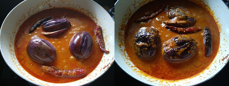 brinjal curry stp 11