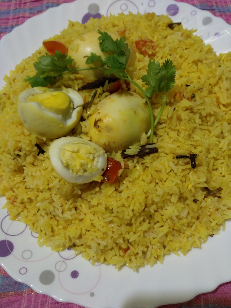 egg biriyani mein 2