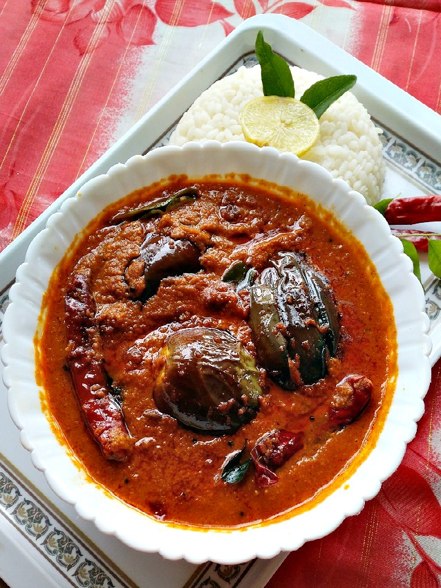 Brinjal Curry (Eggplant Curry) Recipe