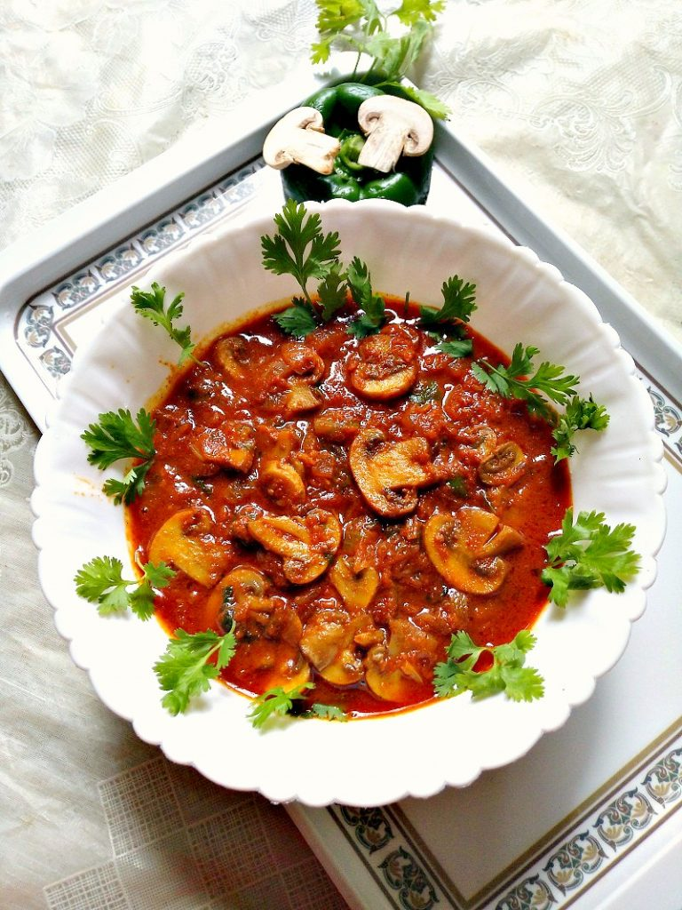 kadai-mashroom-recipe