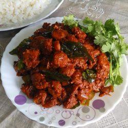 PRAWN ROAST Kerala Prawn Fry