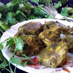Chicken Cafreal / Traditional Goan Chicken Recipe.