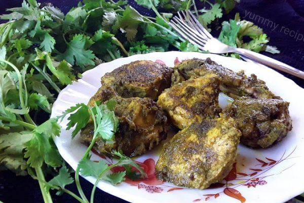 Chicken Cafreal / Traditional Goan Chicken Recipe.
