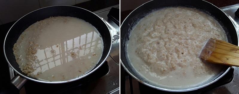 milk oats porridge recipe preparation steps