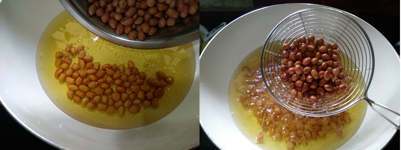 Kerala Spicy Mixture- steps