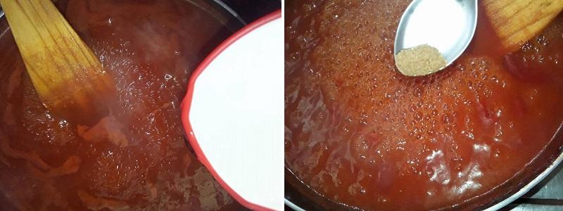 Preparation steps - Tomato Sauce