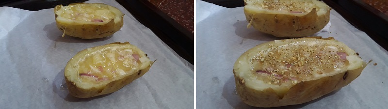 Preparation steps of Potato egg cheese recipe