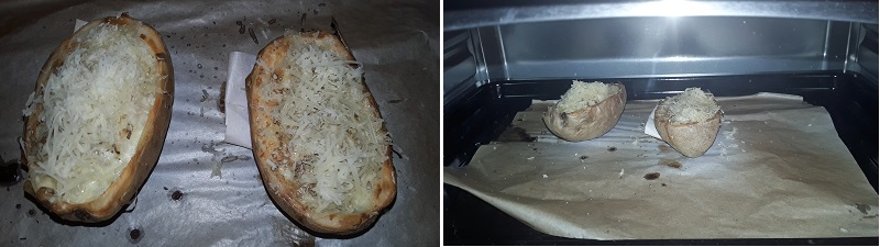 Preparation steps of Potato egg cheese recipe