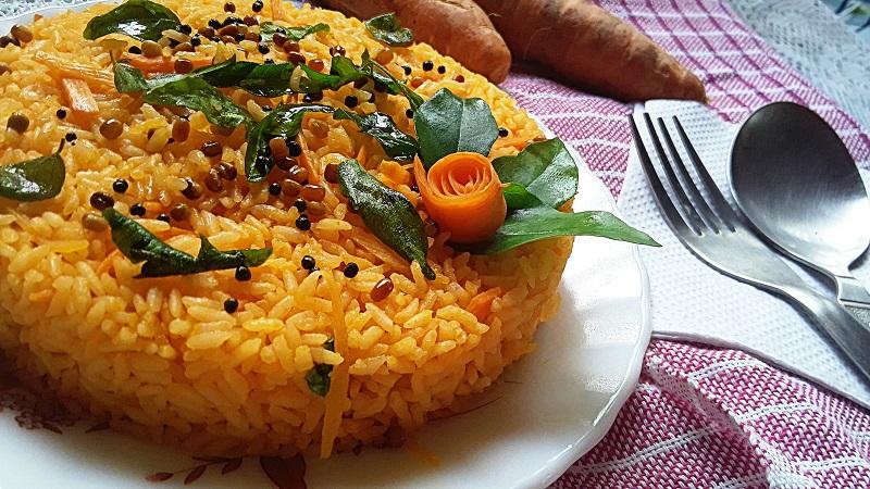 tasty Carrot Rice Recipe