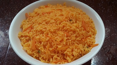 Carrot Rice Recipe preparation steps
