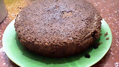 Chocolate cake recipe preparation steps