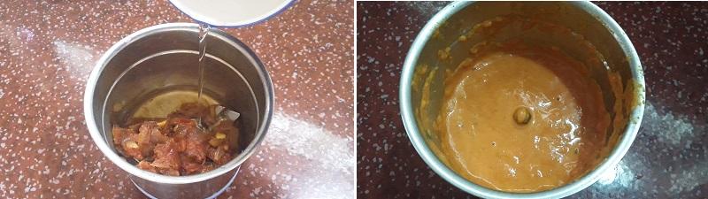 good Aloo Palak Gravy preparation steps