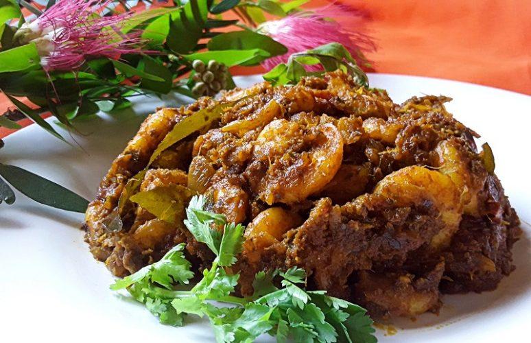 Prawns Masala Dry Fry / Yummy Recipe Special