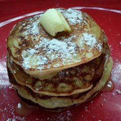 Banana pan cakes / breakfast recipes