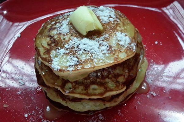 Banana pan cakes / breakfast recipes