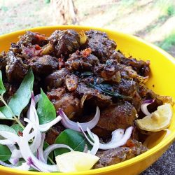 Chicken liver pepper fry / chicken liver recipes