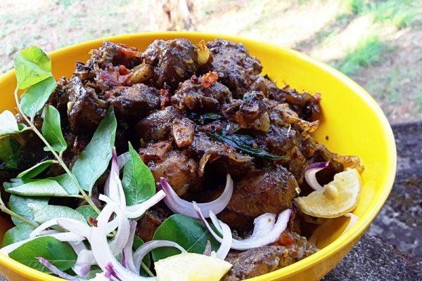 Chicken liver pepper fry / chicken liver recipes