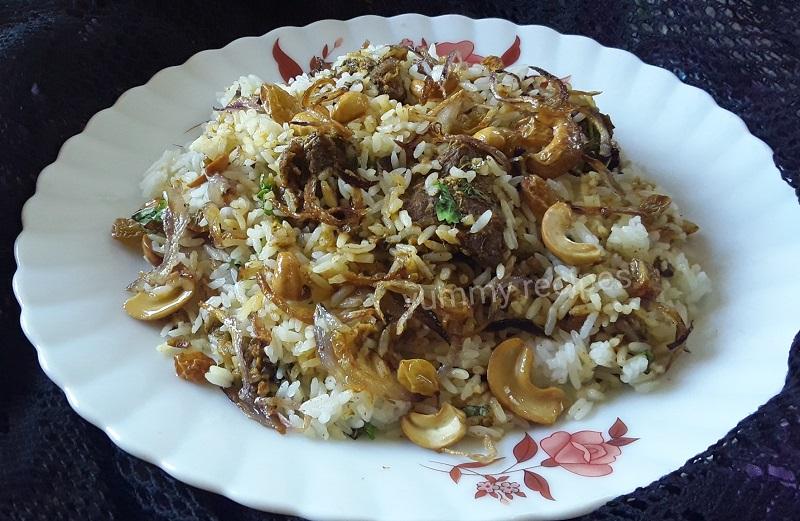 Kerala Beef Biryani