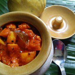 lemon pickle /Vaduka puli curry