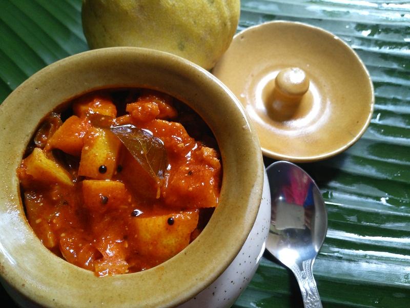 Naranga pickle Recipe