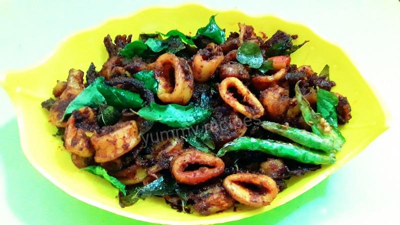 squid fry