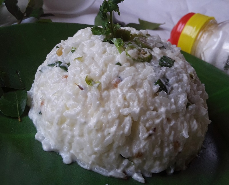 Curd rice recipe / Thairu saatham