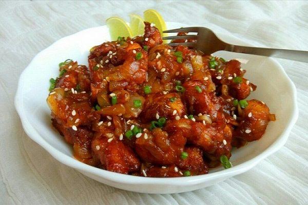 DRAGON  CHICKEN RECIPE / INDO -CHINESE STYLE