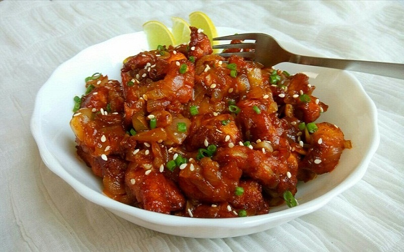 Dragon chicken indo chinese style yummy recipes todays our special recipe is made out of chicken which is one of the worlds most popular food item our dish name is dragon chicken forumfinder Images