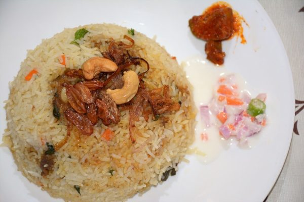 Kerala Style Simple Mutton Biryani