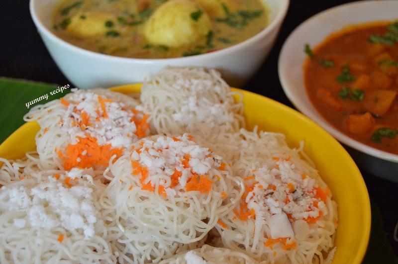Idiyappam Curry