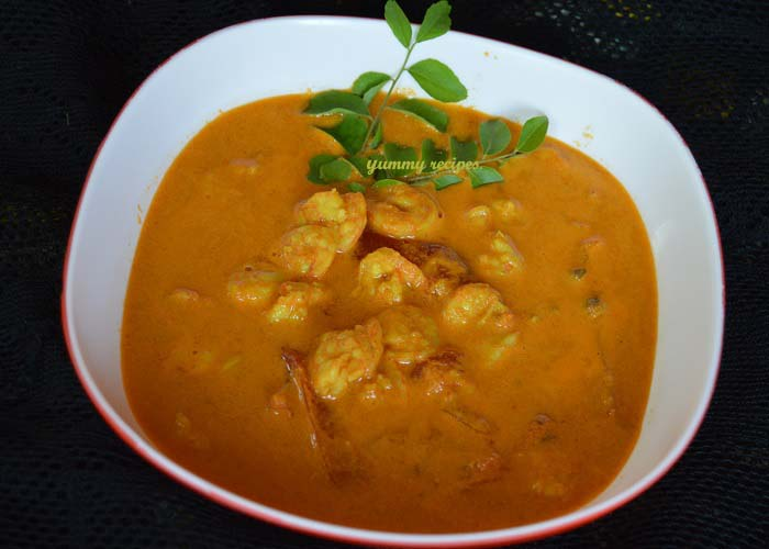 Kerala Chemmeen Curry