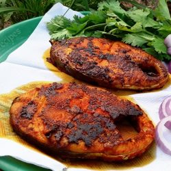 Tandoori Fish Without Oven