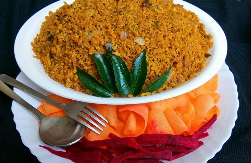 Kerala Fish Egg Fry