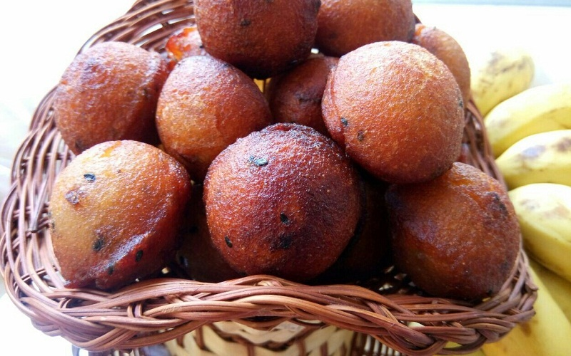 Unniappam is the traditional recipe, and a popolar snack of Kerala people. Normally unniappam is made with rice flour and jaggery. In Kerala people make this in every occasion. In some places unniappam is often used as a ritual offering in temples in Kerala. I got this recipe from my mother. She knows how to make perfect unniappam. I am adding fried coconut in the batter which gives this recipe extra taste. Here I used coconut oil for frying these unniappams, you can use any vegetable oil or sunflower oil for frying. Some places people use ghee for frying. This is a must item for our traditional festivals like onam and vishu. Kids love to eat these unniappam, so I hope all of you will definitely try to make this for your kids. I am very happy to share this traditional Kerala Style Unniappam Recipe. Please try to send your feedbacks in our comment box