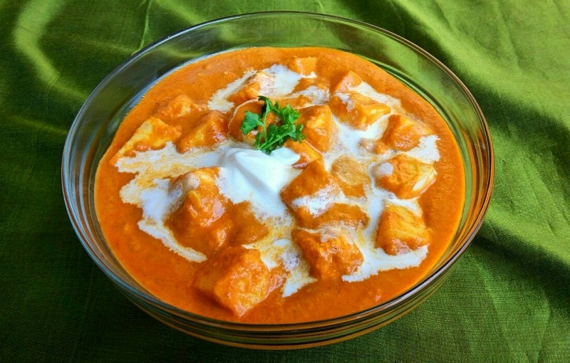 Paneer Butter Masala Easy Recipe