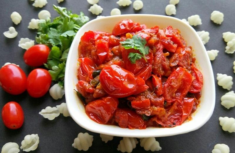 Kerala Style Tomato Fry Recipe
