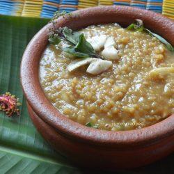Ponkala Payasam / Jaggery Rice Kheer