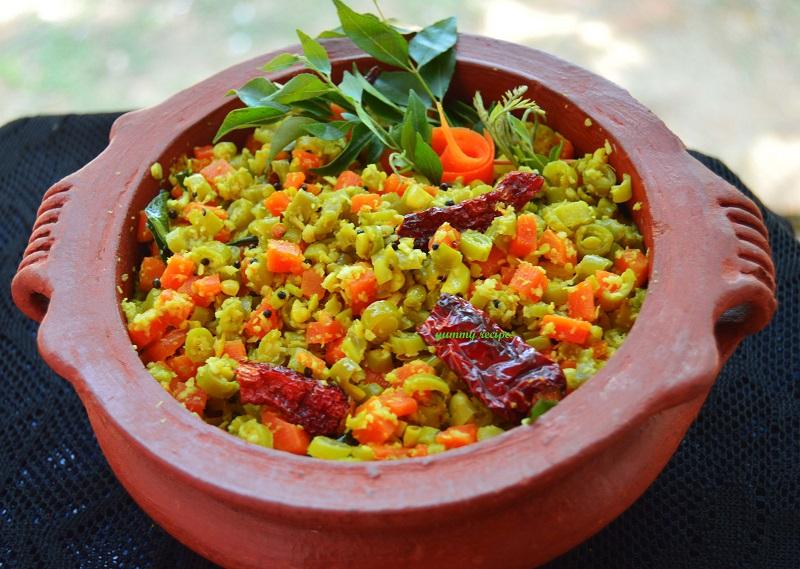 carrot beans recipe