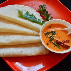 instant dosa with chutney recipe